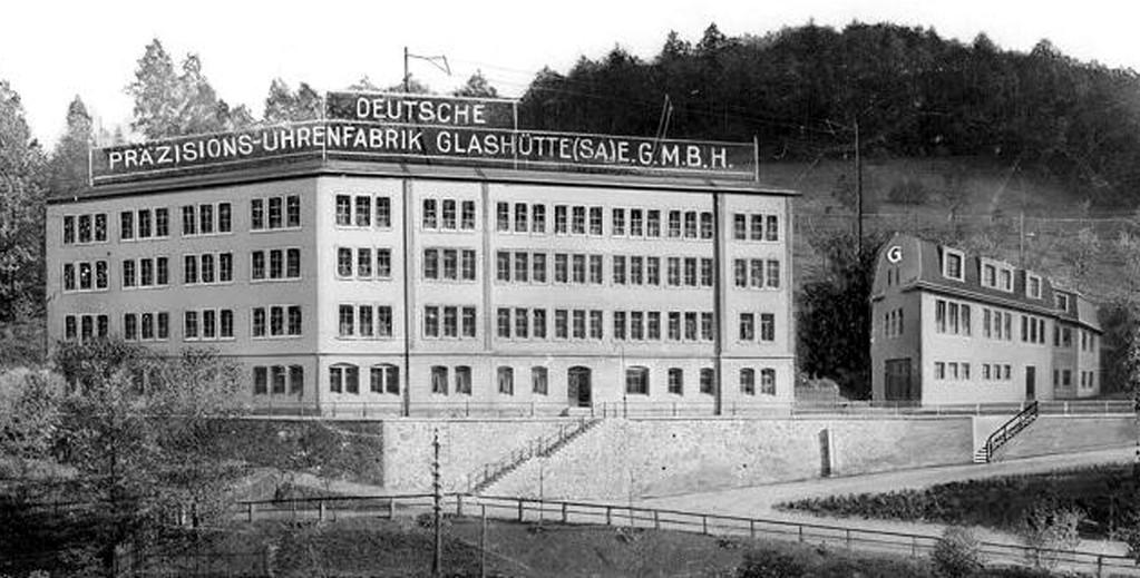 Das Gebäude der Abteilung Vollendung nach dem Ausbau