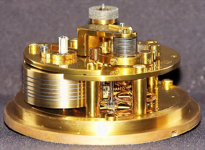 GUB Kaliber 100 Marine-Chronometer, offene Werkansicht 5