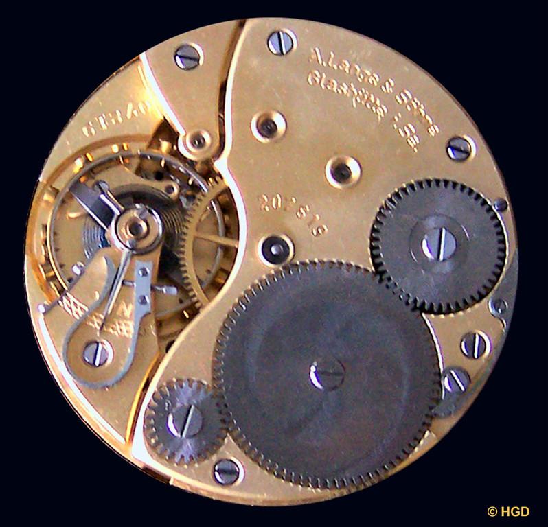 Werkseite des B-Chronometerwerkes Kal. 48