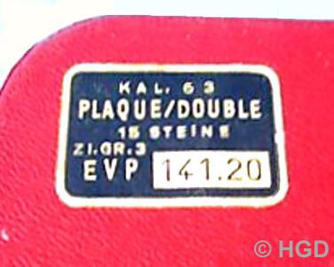 GUB Kal. 63 Originalverpackung mit Preisschild