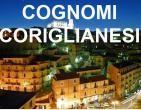 I cognomi coriglianesi. Cerca il tuo cognome