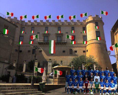 La squadra in visita a Corigliano Calabro