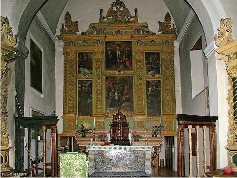 Interno della Chiesa di S.Anna