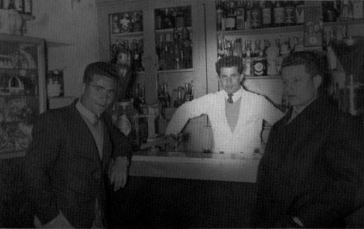 1958 al Bar Montalto, il barista (banconista) ??(non ricordo il nome)