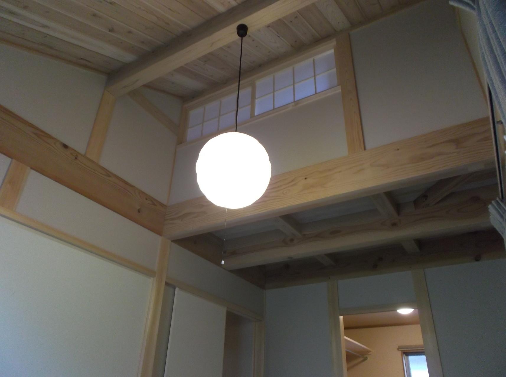 子供部屋を照らす柔らかな照明