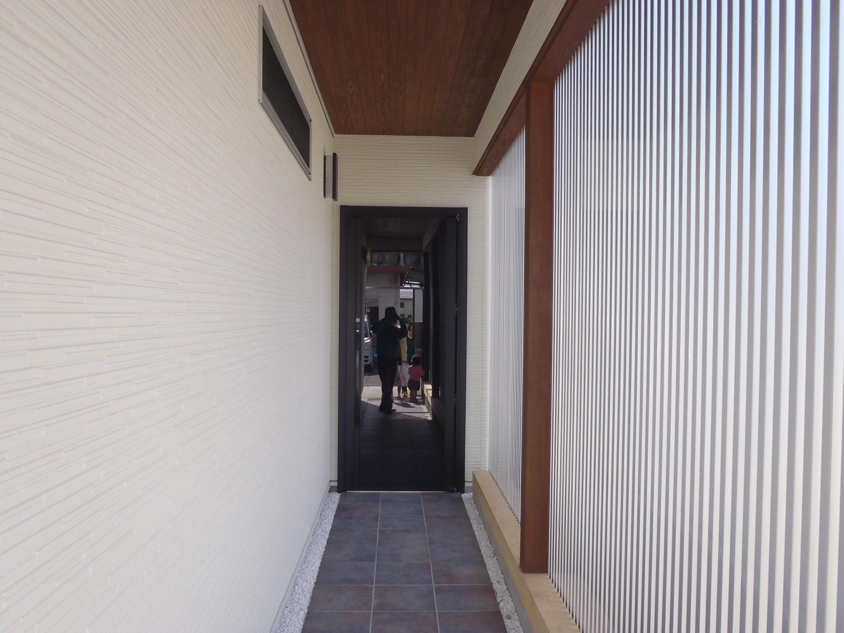 玄関アプローチ 通路
