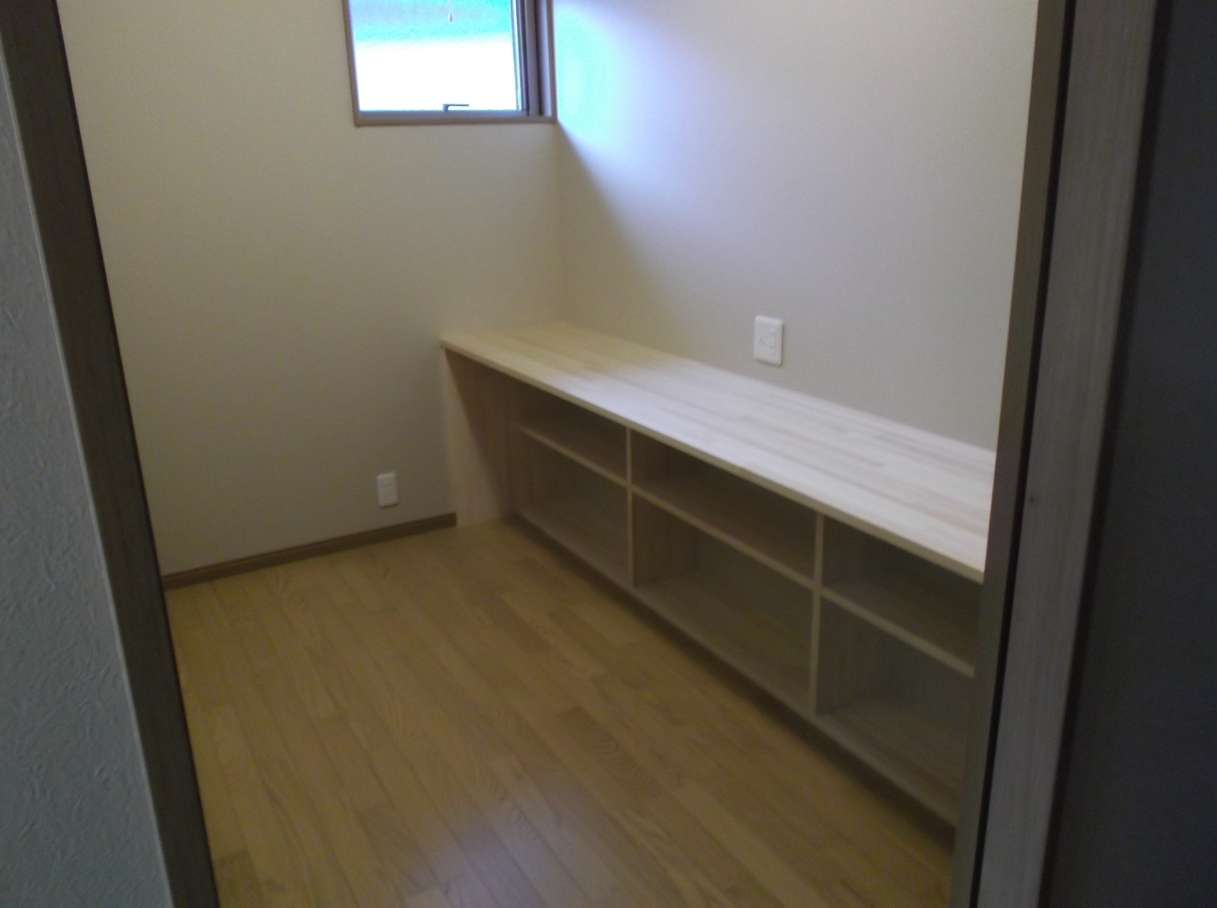 書斎として利用する趣味の部屋