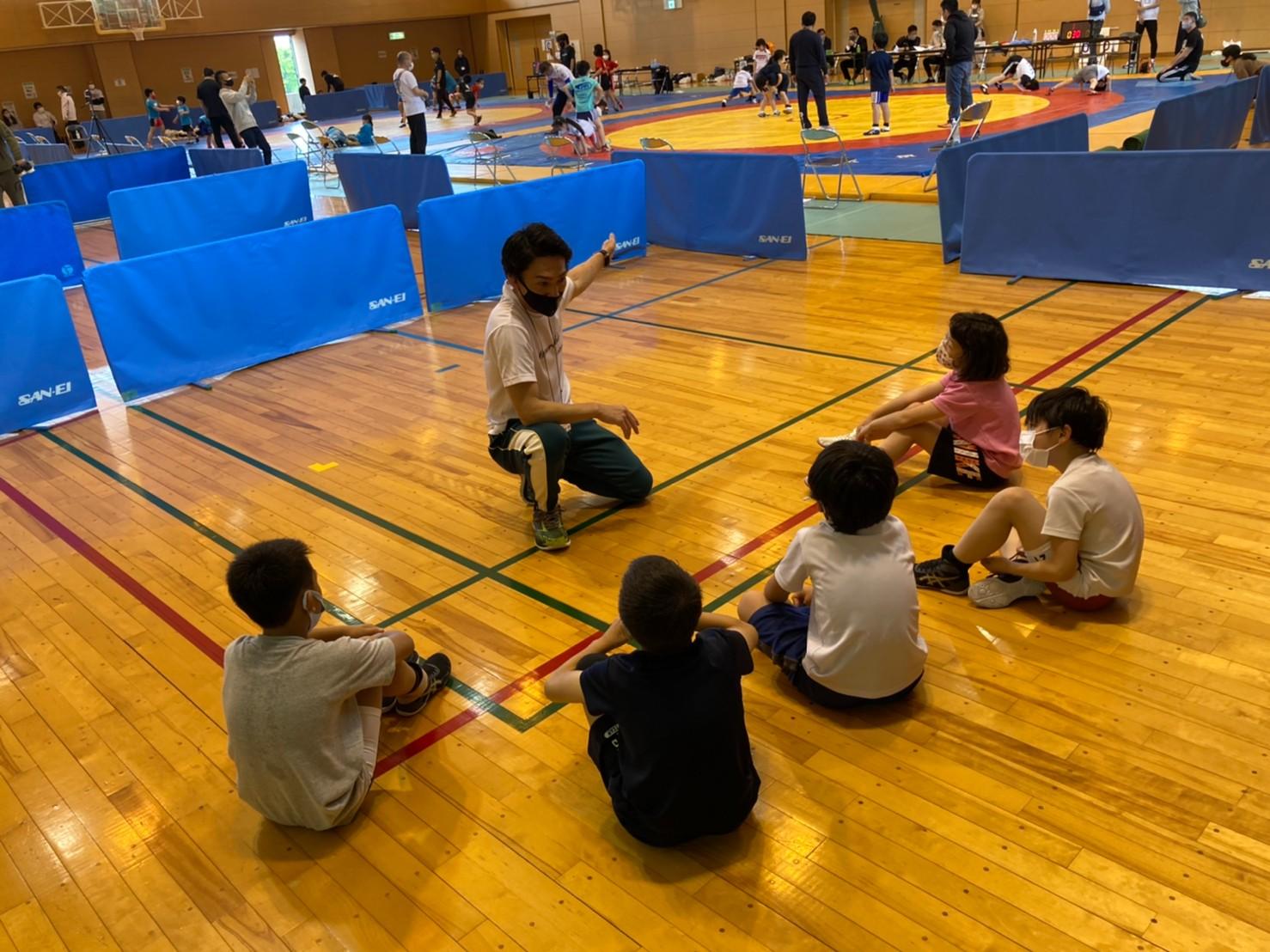 第5回神奈川県少年少女レスリング春季横須賀大会