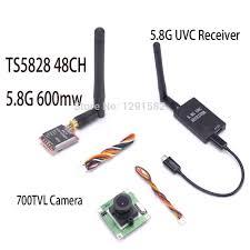 caméra - émetteur 5.8 Ghz - récepteur 5.8 Ghz