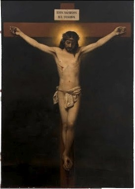 Cristo crucificado (después de la restauración)