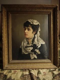 Retrato de dama. Cedida por Julio Ferrer