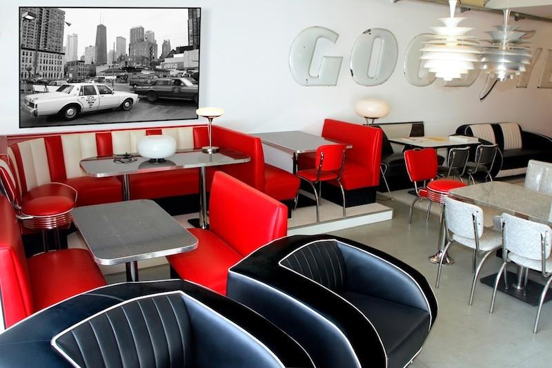 diner m bel von bel air hellwig 50 39 s retrolook. Black Bedroom Furniture Sets. Home Design Ideas