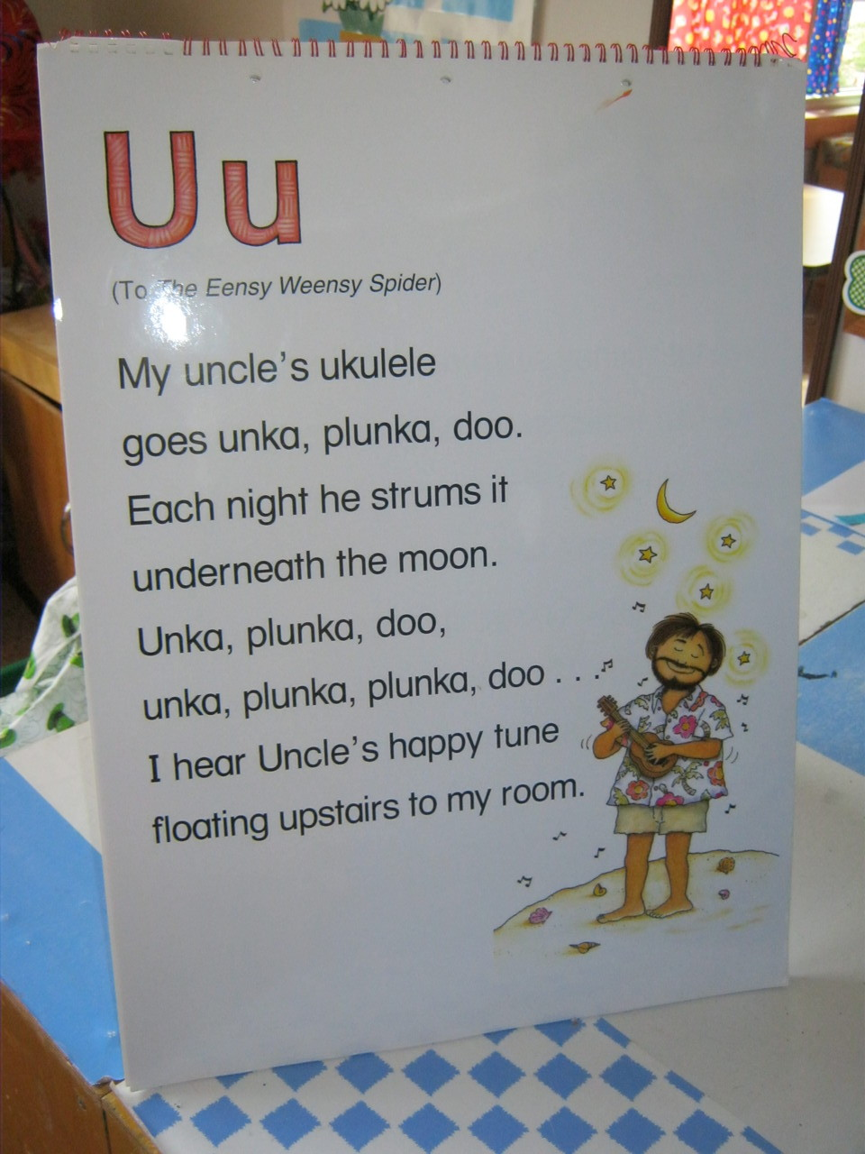 "Poems and songs make ""U"" even more fun!"