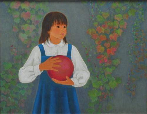 木尾美恵子  (苫小牧)    文部科学大臣賞 『望み』 日本画