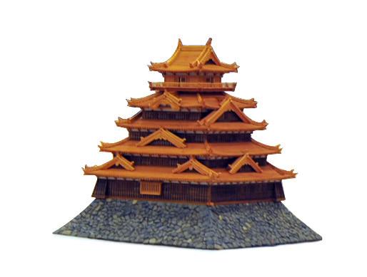 中神文雄  (福岡)    グランプリ 『福岡城』 工芸