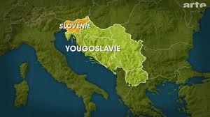 La slovénie dans l'ex Yougoslavie