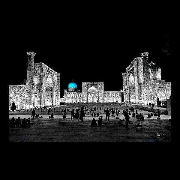 Andrea Taronna (Italy), Samarkand