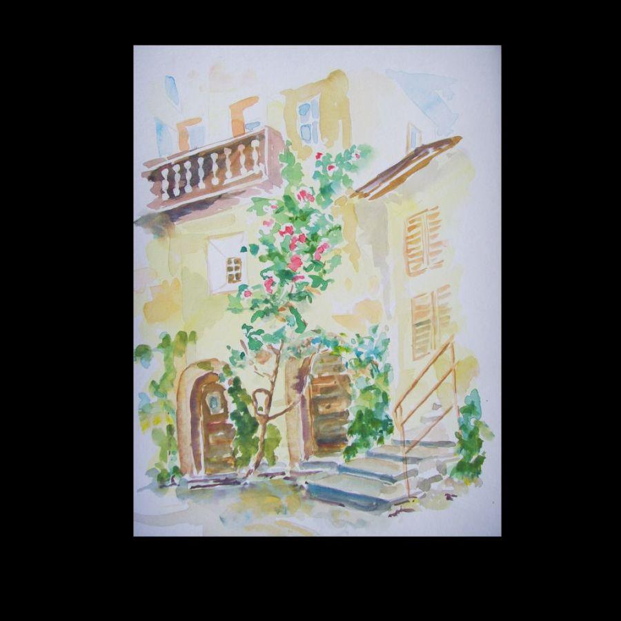 Waltraud Lange-Mülich (Germany), House in Provence