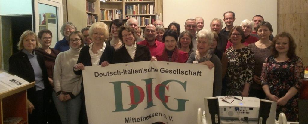 Vorstand der Deutsch-Italienischen Gesellschaft Mittelhessen e. V.