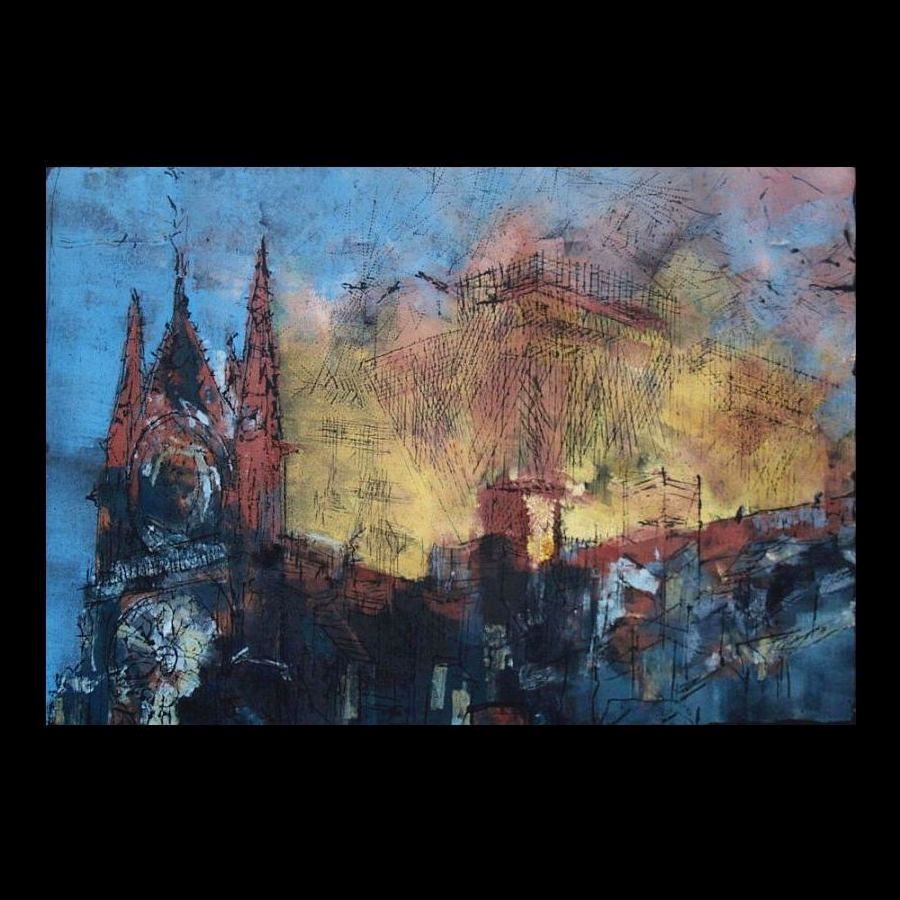 Michael Ackermann (Germany), Notre Dame Fire