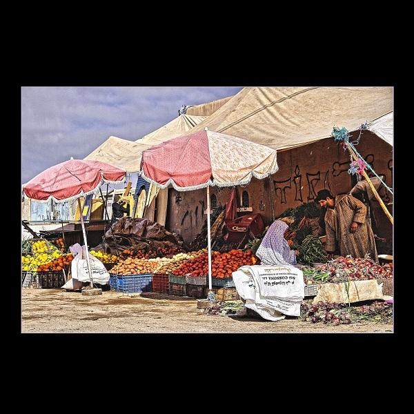 Cornelia Hollaender (Germany) – Market in Tiznit