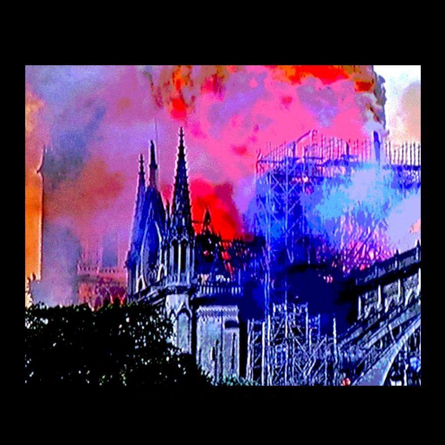 Brigitte Schön (Germany), Notre Dame Fire