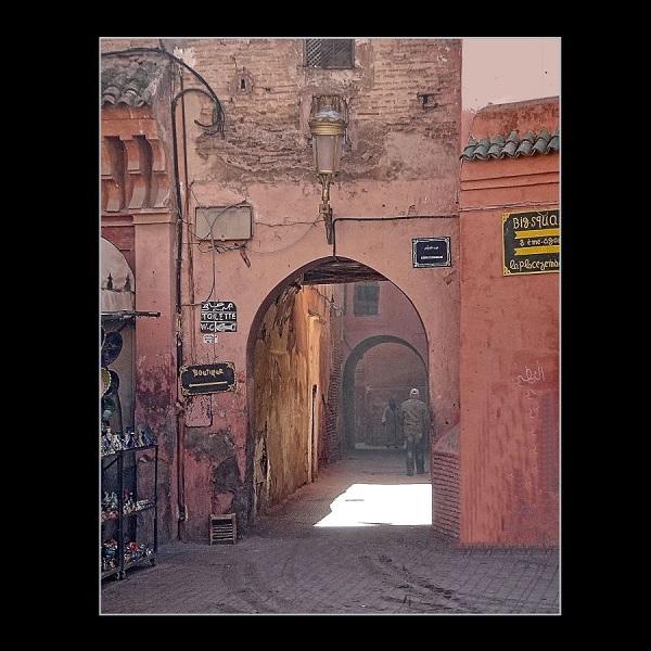 Cornelia Hollaender (Germany), The Streets of Marrakesh