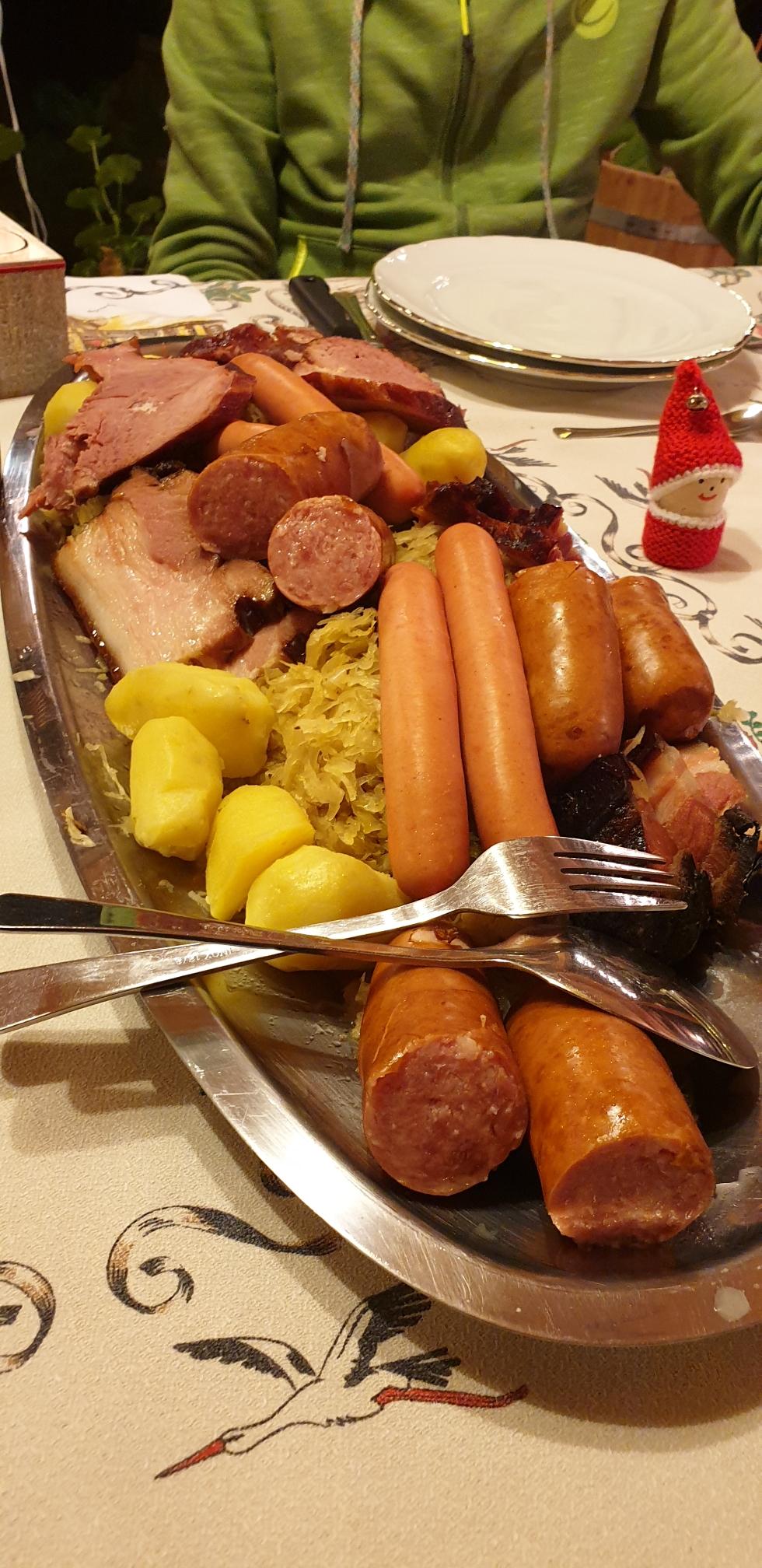 Hauptgang: Sauerkraut a la Ferme