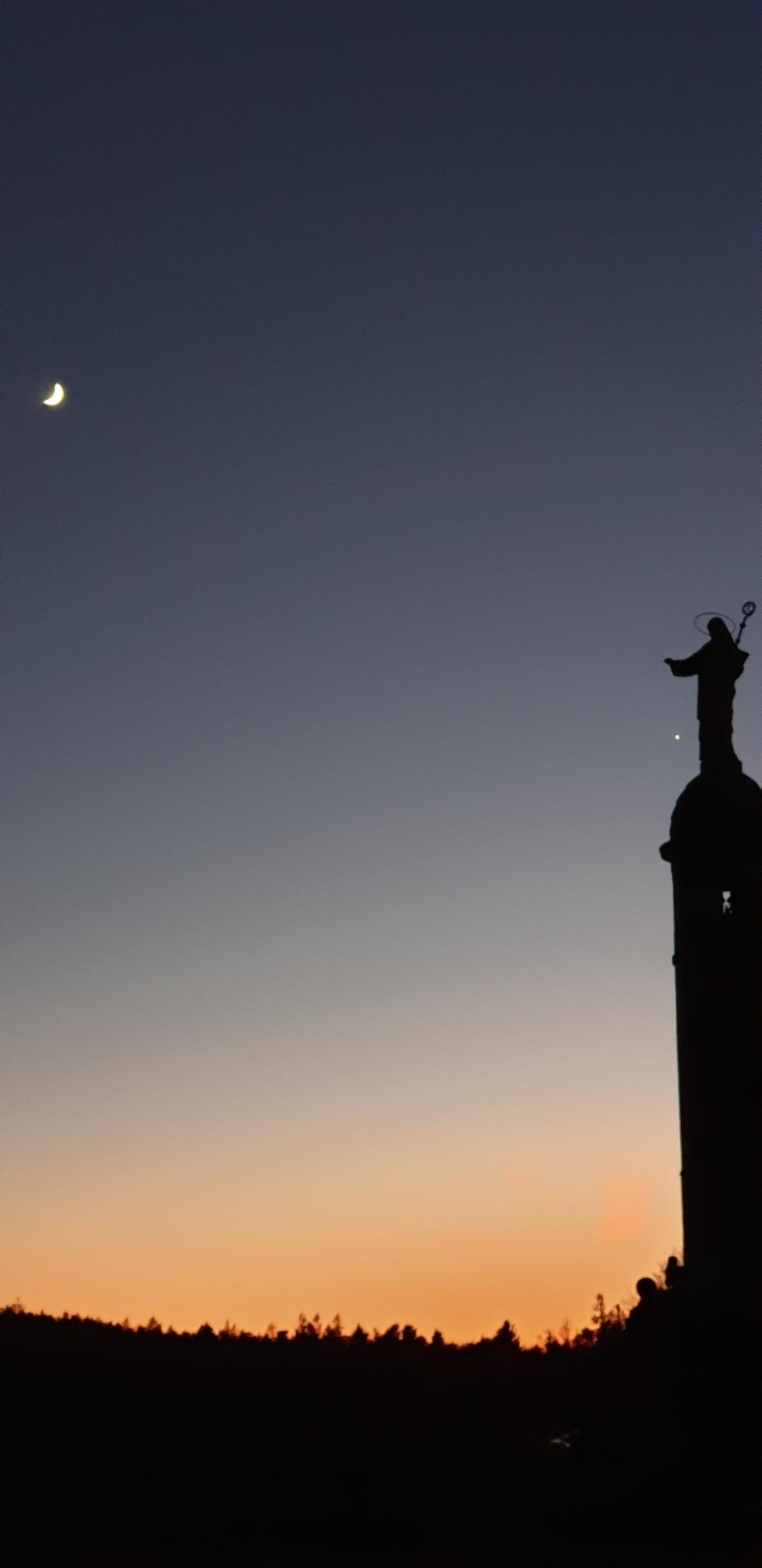 St.Odile au clair de lune