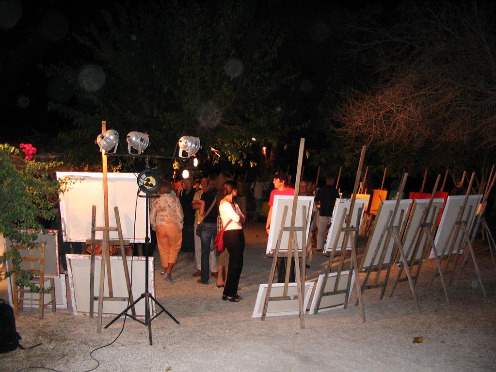 Vernissage - Sommerakademie Zakynthos