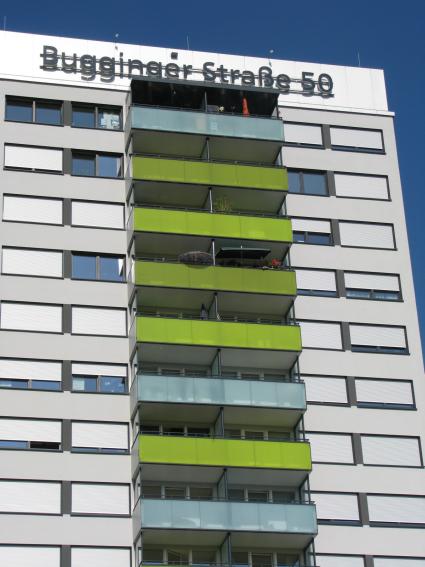 ORNITEC: Effektive Vogelabwehr an Fassaden von Hochhäusern.