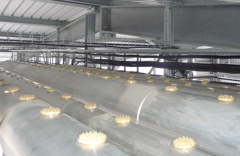 ORNITEC: Effektive Vogelabwehr in Verladebereichen der Industrie.