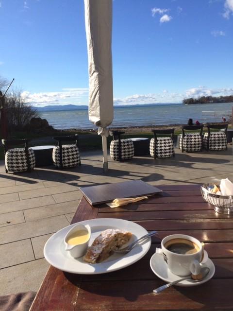 An guten Restaurants mangelt es am Bodensee nicht ...