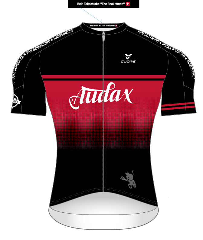 AUDAX Teamausrüstung (rot)