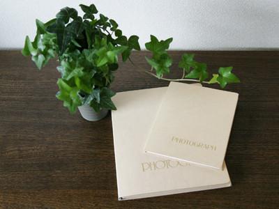 既製品ではありえない。高級な紙の台紙です。430円~ 各種サイズございます。