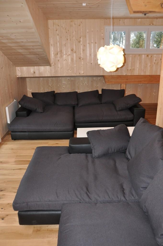 """Die grossen Sofas sind perfekt zum """"relaxen"""""""
