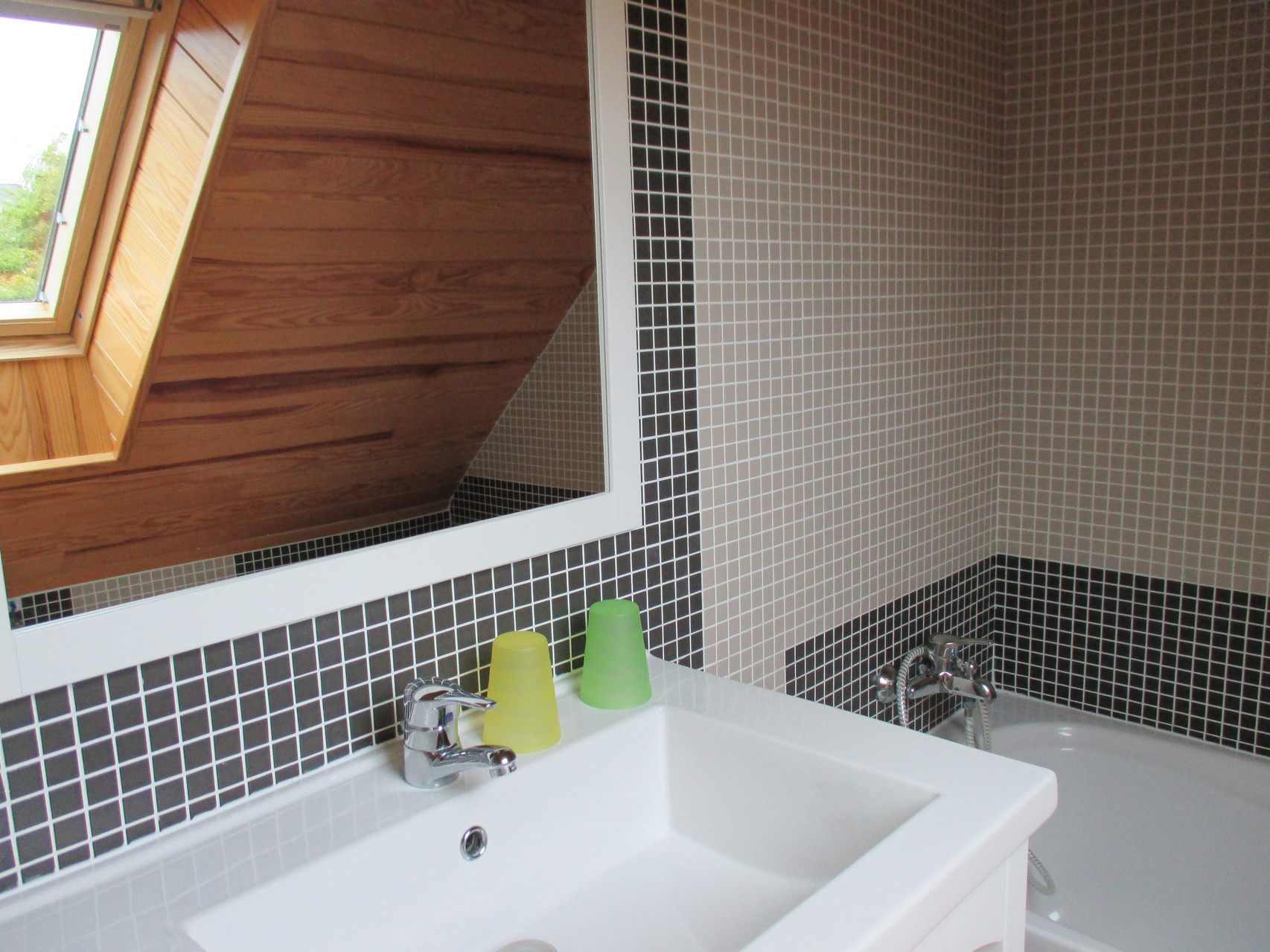 une salle de bain privative