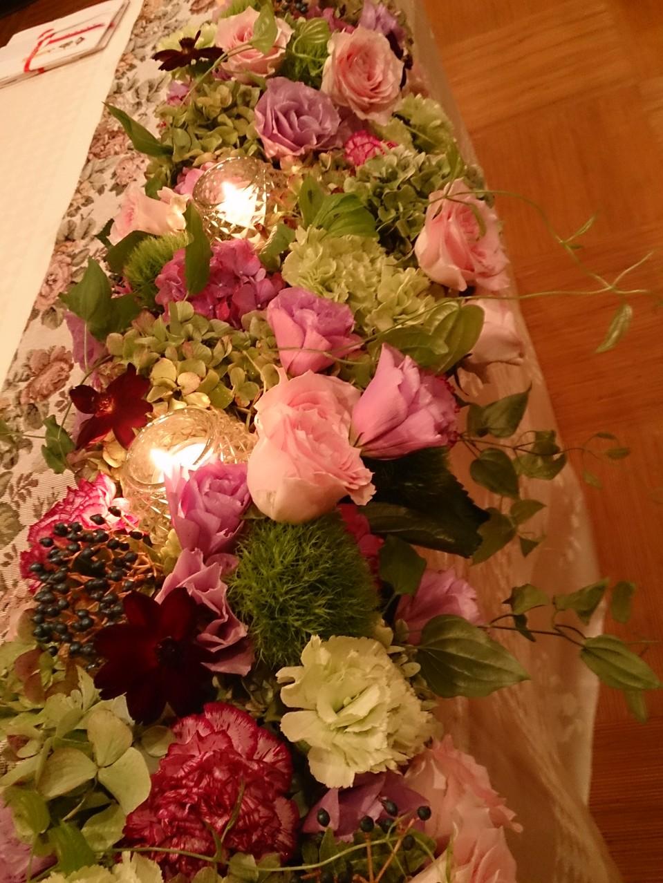 ウェディング 生花