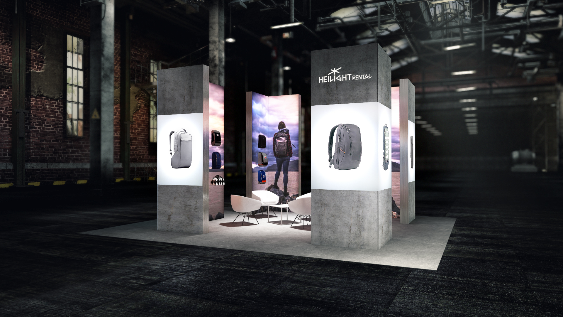 Raumtrenner 3D Planung