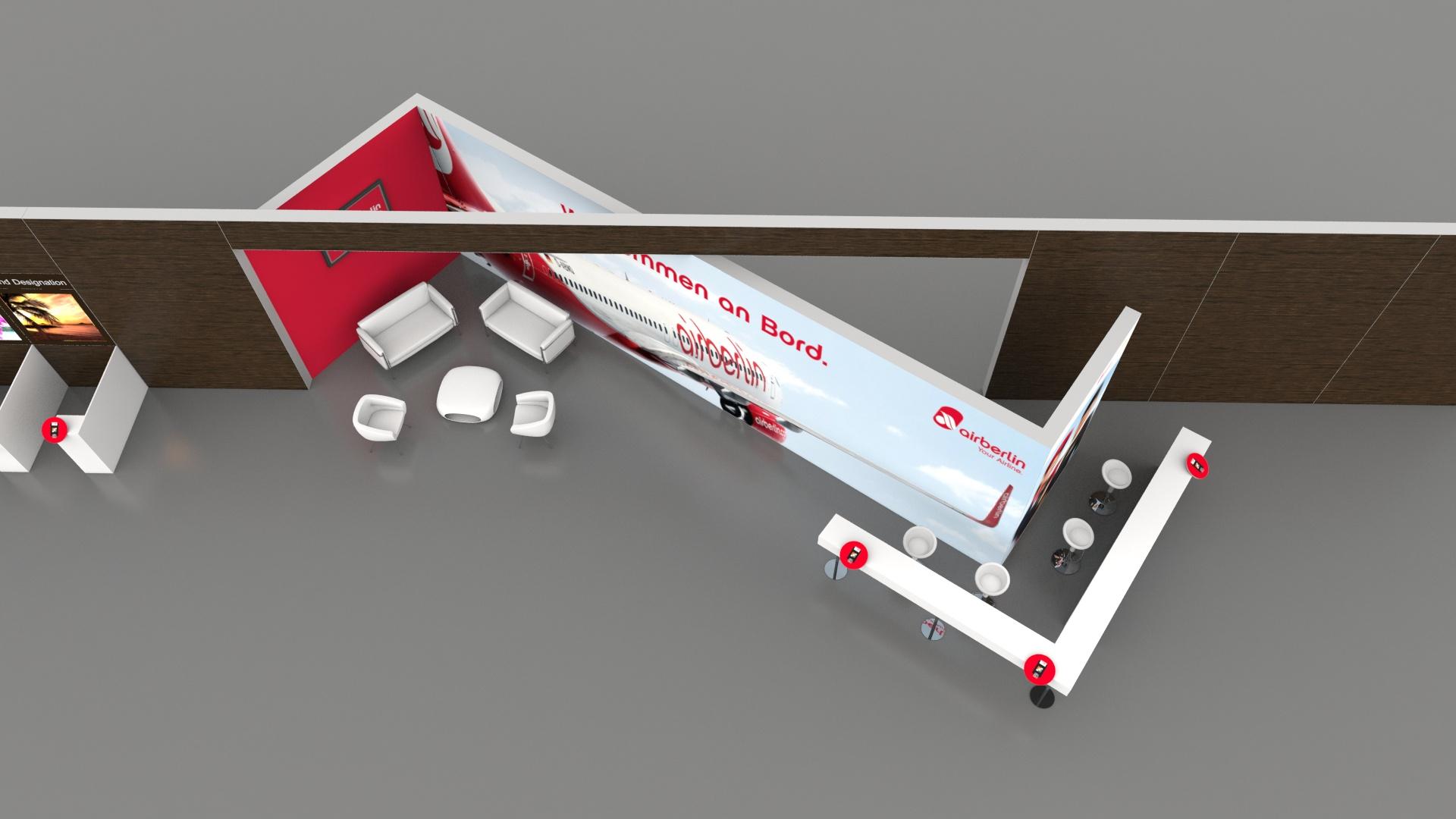 3D Planung Air Berlin 2