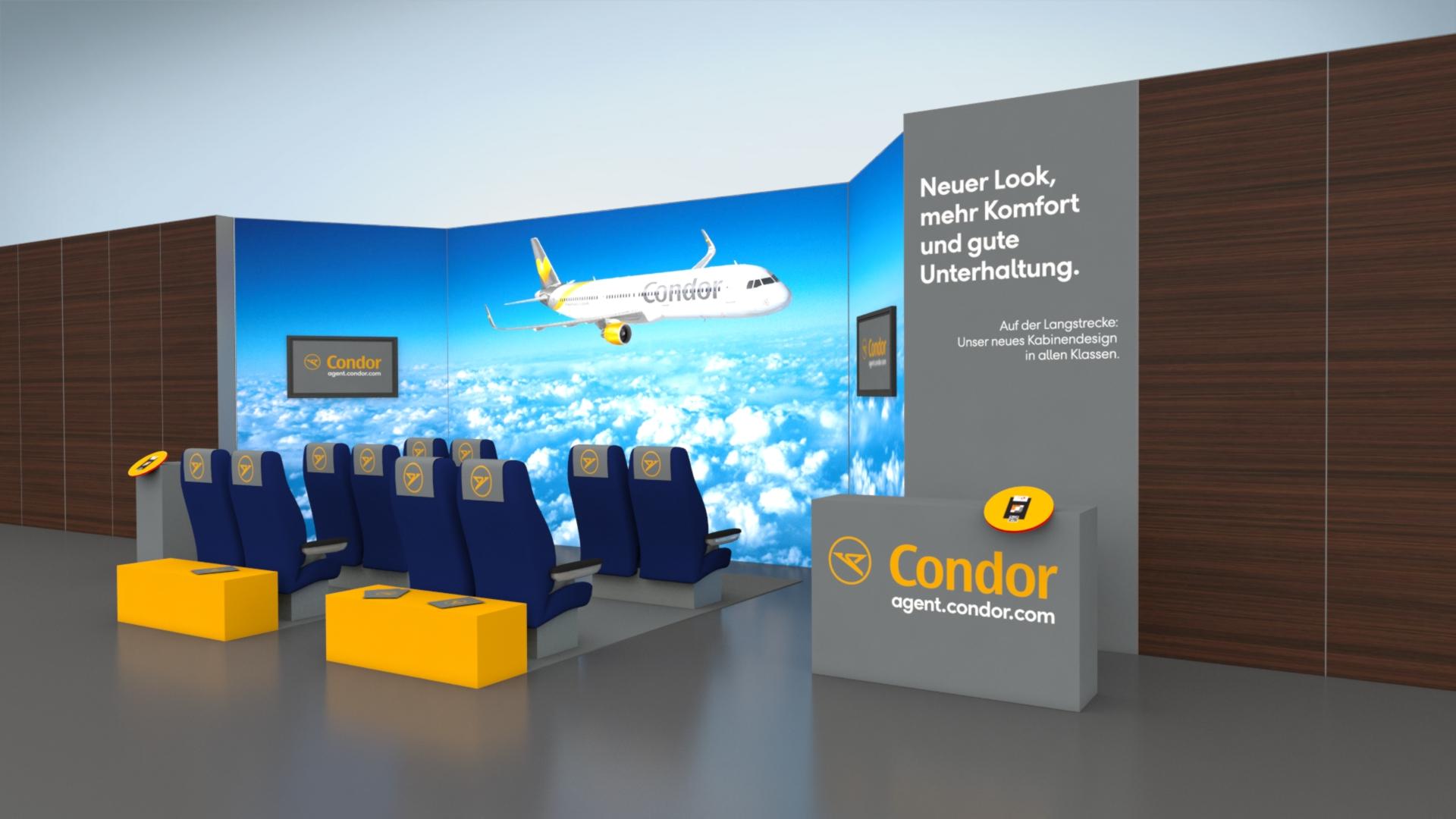 Condor Messestand Planung