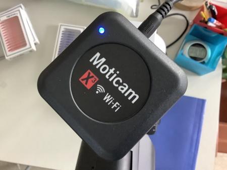 Neue Mikroskopkamera