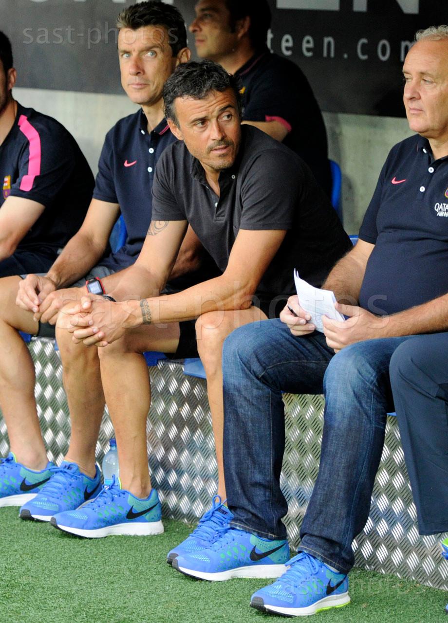 Trainer Luis Enrique Martinez (Barcelona)