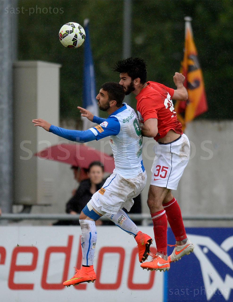 Munas Dabbur (GCZ) gegen Serdar Tasci (Spartak)