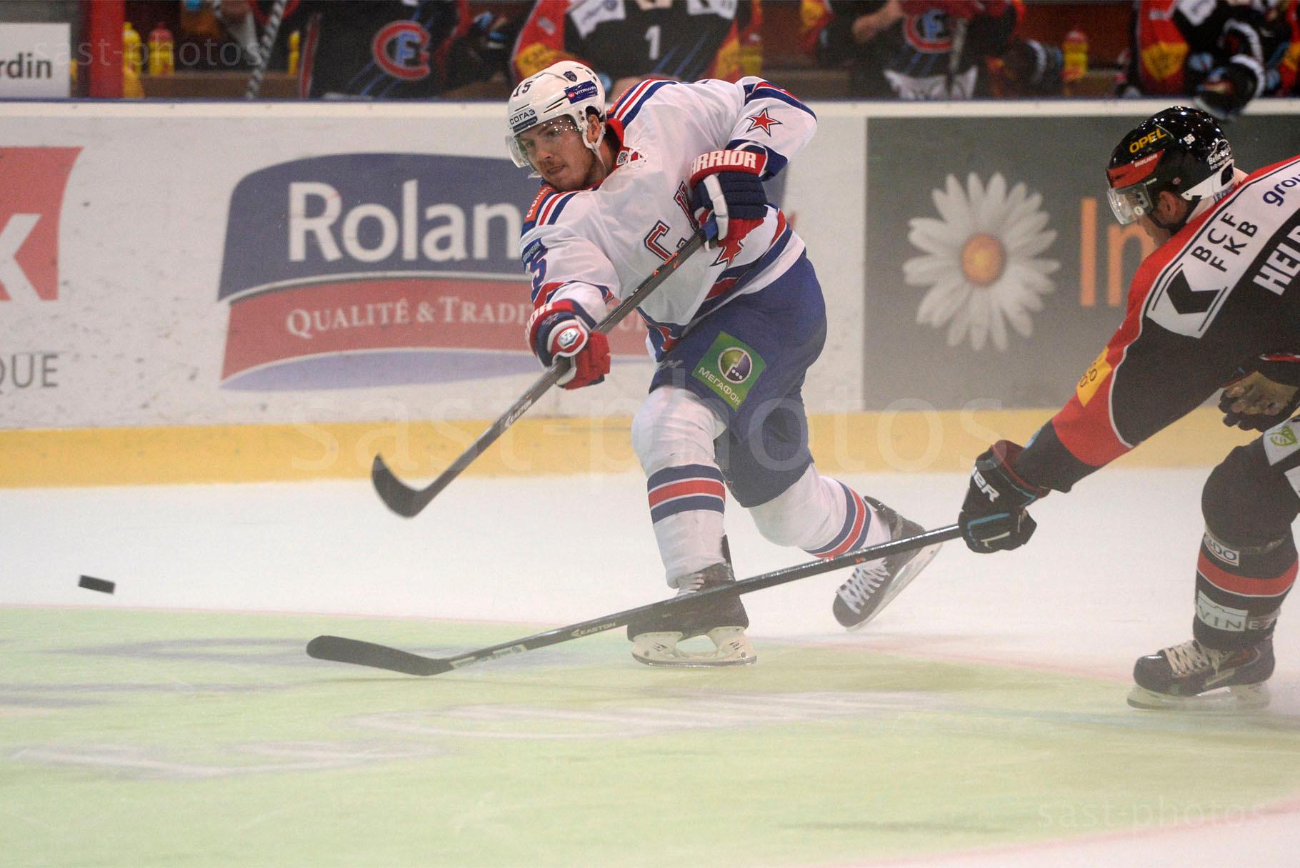 Alexander Kucheryavenko (L. St. Petersburg) gegen Timo Helbling (Fribourg)