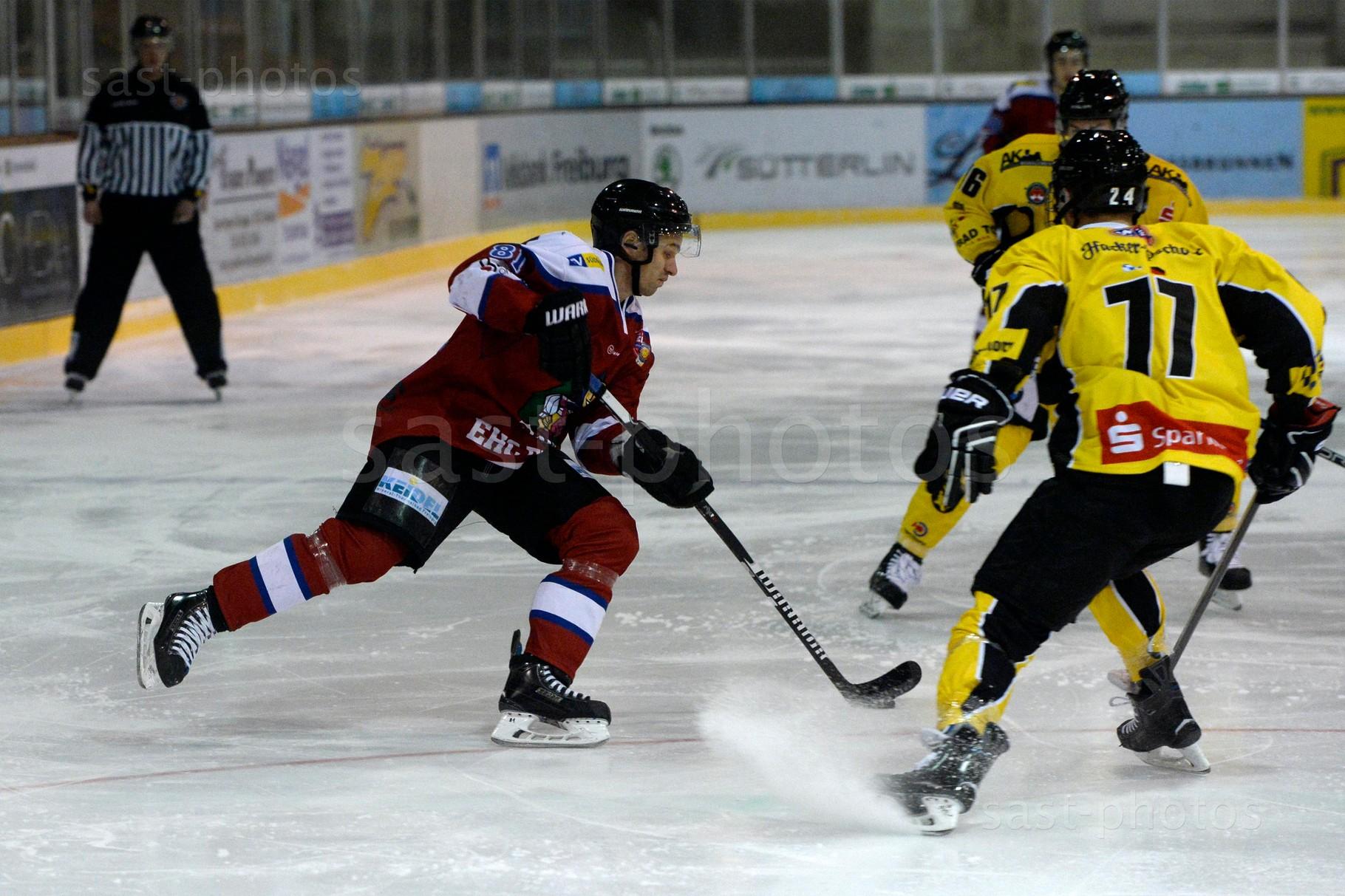 Chris Billich (L. Freiburg) gegen Gereon Erpenbach (Bad Toelz)