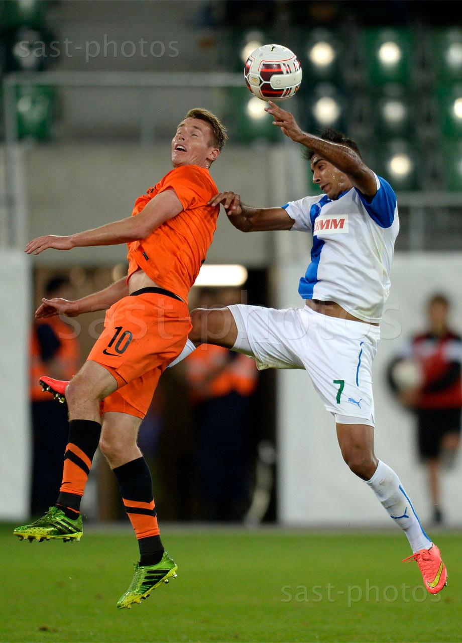 Jesper Jorgensen (L. Brugge) gegen Mahmoud Kahraba (GCZ)