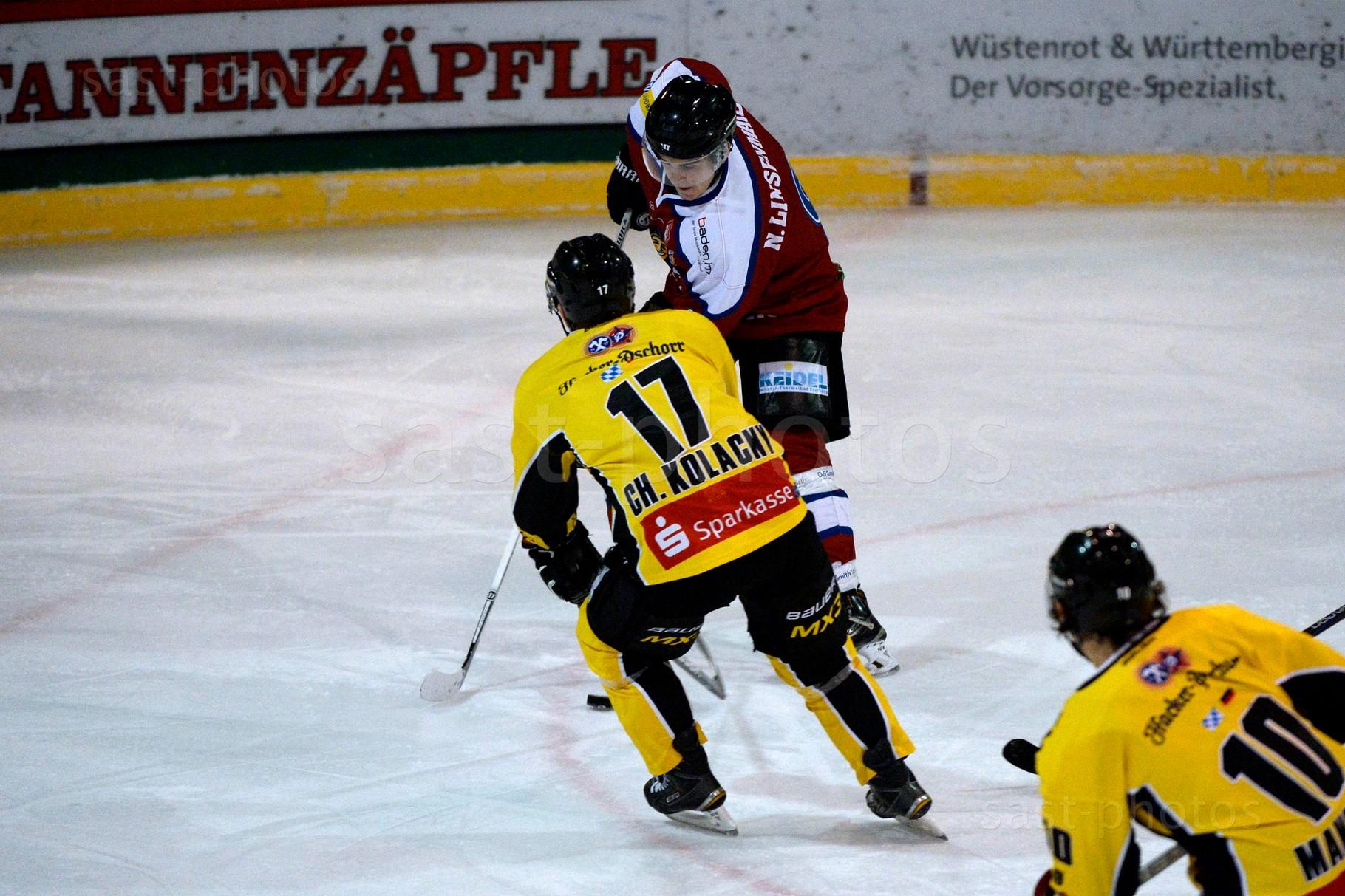 Nikolas Linsenmaier (Freiburg) gegen Christian Kolacny (Bad Toelz)