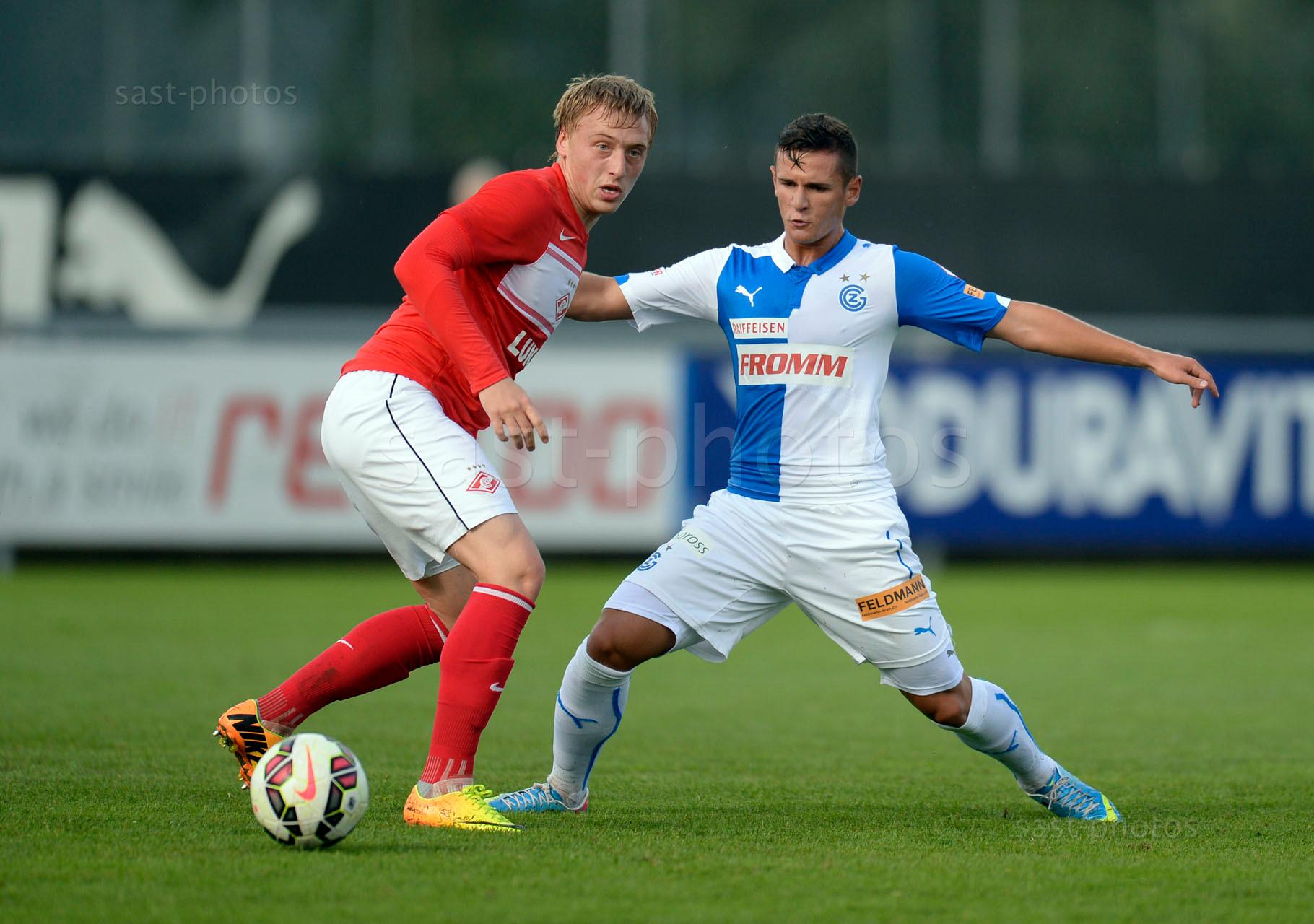 Sergey Bryzgalov (Spartak) gegen Shanj Tarashaj (GCZ)