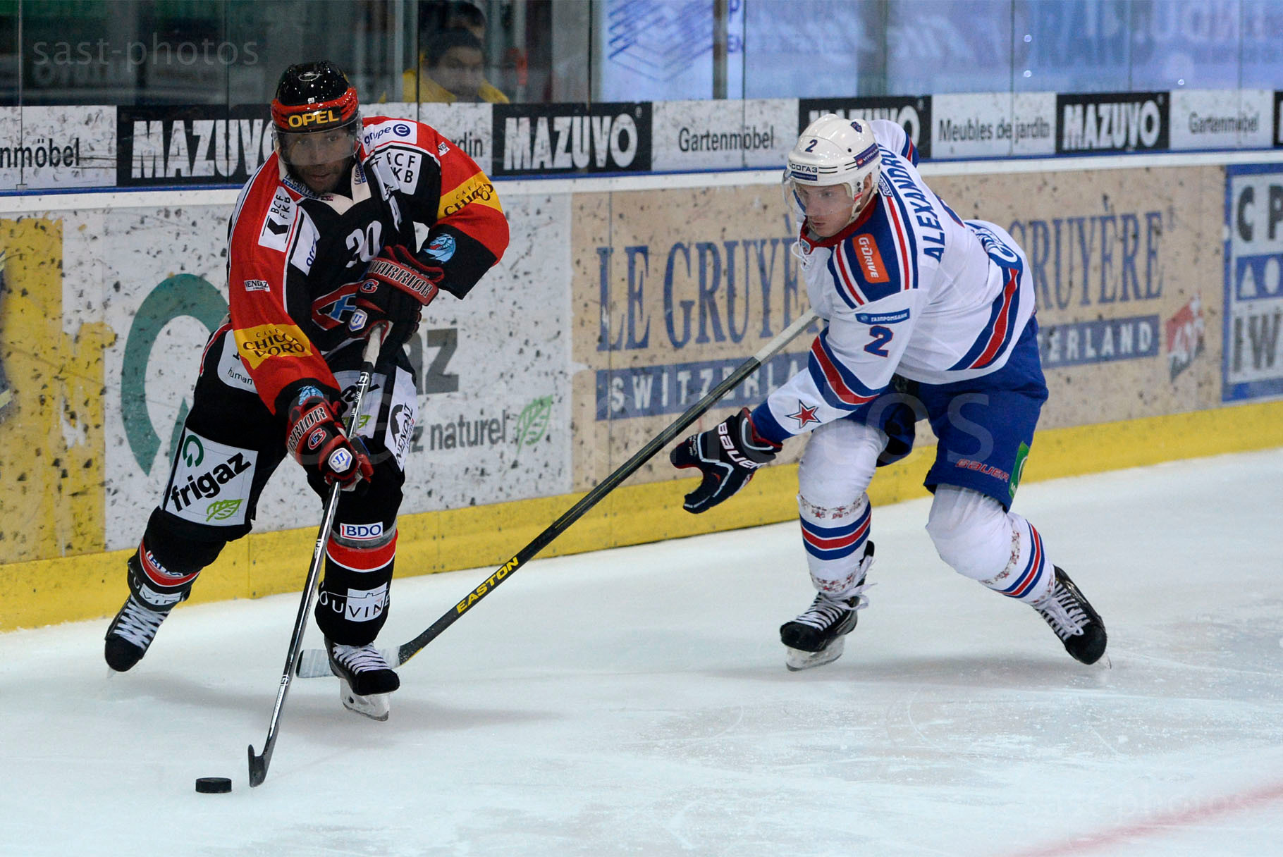 Gregory Mauldin (L. Fribourg) gegen Yury Alexandrov (St. Petersburg)